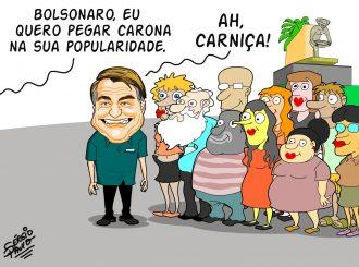 Bolsonaro em Roraima…