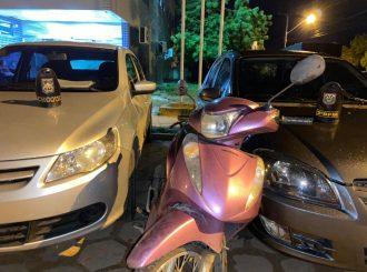 Dupla suspeita de roubar carros e moto é presa em Boa Vista